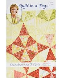 Winter Shopping Season is Upon Us! Get this Deal on Quilt in a Day ... & Quilt in a Day Kaleidoscope 2 Quilt Pattern Adamdwight.com