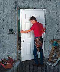 front door installationmethod of statement for wood door installation  Planning Engineer