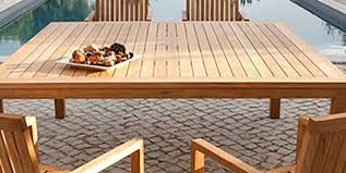 outdoor furniture wood types er s