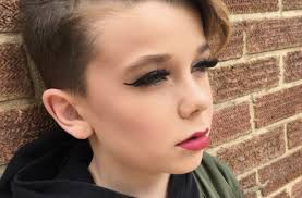 this adorable 10 year old boy s makeup tutorials are going viral