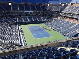 Us Open Seating Chart Ashe Arthur Ashe Stadium View From Loge 117 Vivid Seats