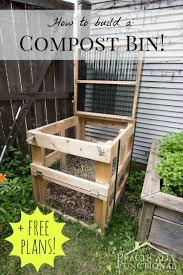 how to build a diy compost bin free plans cut list