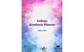 College Academic Planners 2018 2019 College Academic Planner 2young2drink