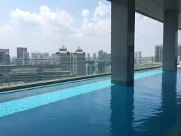 infinity pool singapore hotel. Oasia Hotel Novena, Singapore By Far East Hospitality: Infinity Pool A