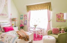 dallas round pink rugs for nursery with traditional artificial flowers kids and lime green little girls