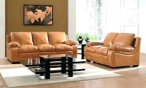 Cream Colored Leather Sofa Light Brown Leather Couch Living Room Com