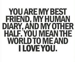 I Love You Bestfriend Quotes