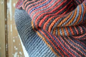 Striped Scarf Knitting Pattern Custom Decorating Design