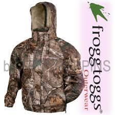 Frogg Togg Rain Gear Size Chart Details About 1 Frogg Toggs Rain Gear Ladies Camo Jacket Pa63502 54 Realtree Ap Xtra Hunt Fish