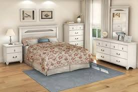 Distressed White Bed White Bed Furniture Distressed White Bedroom ...