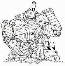 Transformers Rescue Bots Coloring Pages Book Also Transformer Best