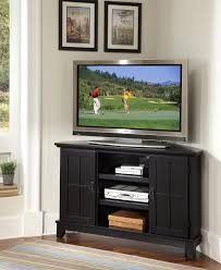 best tv stand corner unit for your family room design traditional black wooden tv stand