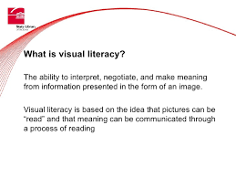 Visual Literacy Definitions Visual Literacy And Picture Story Books