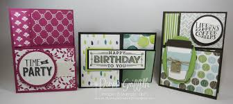 fold card split closure tri fold card video dawn s stamping thoughts