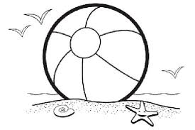 Small Picture Beach ball beach scene clip art coloring pages coloring panda