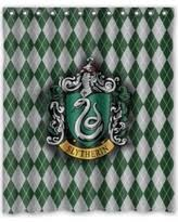 harry potter shower curtains. deyou harry potter hogwarts slytherin logo shower curtain polyester fabric bathroom size 60x72 inches curtains