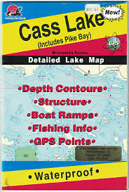 Table Rock Lake East Section Detailed Fishing Map Gps