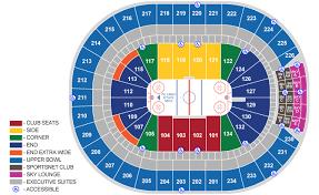 Exact Rogers Stadium Seating Rogers Arena Vancouver Seat