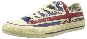 converse unisex. converse unisex-adult chuck taylor all star union jack 1 trainers blue / red unisex shoes,converse high tops leather,stable quality
