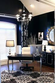 office space manly. Exciting Manly Office Decor Home Ideas Dark Blue Walls Silver And White Accents Classy In A Color Space