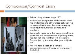 Compare And Contrast Essay On Two Friends Comparison And Contrast Essay Between Two Friends