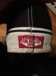 Fake Vans The Vans Logo On My Shoe Is Upside Down Mildlyinteresting