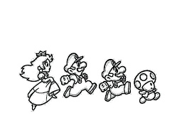 And Coloring Pages And Coloring Pages Super Mario Brothers Free