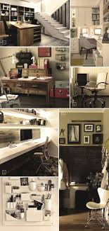 a home office. ideas for turning a basement space into home office
