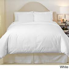 pointehaven 500 thread count egyptian cotton 3 piece duvet cover set