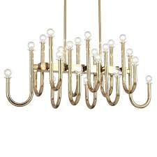 abbey light chandelier polished brass jonathan adler meurice 42
