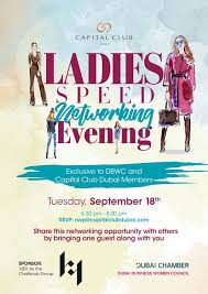 Dbwc Event September Ladies Speed Networking Evening