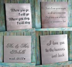 zoom on custom wall art quotes with valentine gift custom metal quote sign and sayings