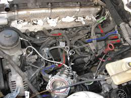 bmw m52 engine diagram wiring vacuum line and cooling diagrams pic of underside of m52 intake vacuum hoses and icv