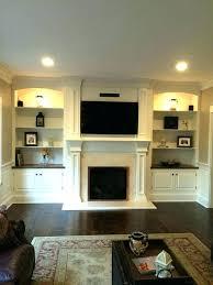 shelves around tv post tv shelves design for living room shelves around tv