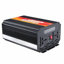 <b>5000W</b> Smart Solar <b>Power</b> Inverter DC 12V/24V to AC 220V/110V ...