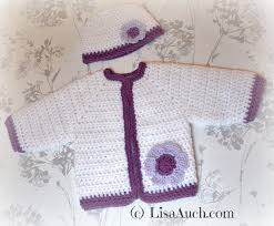 Free Crochet Baby Sweater Patterns Unique Free Crochet Patterns And Designs By LisaAuch Free Crochet Pattern