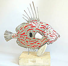 fish wall sculptures best of wrought iron fish wall art awesome village wrought iron hp od k