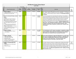 Progress Status Report Template Project Management Status Report Template My Best Templates 1