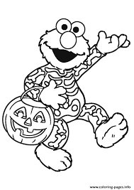 The flight of the bats. Elmo Halloween Disney Halloween Coloring Pages Printable