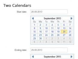 How to calculate the difference in days between two calendar dates.