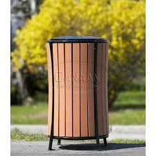 trash receptacles corrugated trash receptacle garbage cans