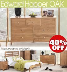 Oak Bedroom Chest Of Drawers Edward Hopper Oak Furniture Bedside Table Chest Of Drawers