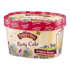 Turkey Hill Premium Ice Cream Party Cake 48 Fl Oz Prestofresh