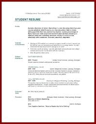 College Graduate Resume Examples Job Top Resumes Samples Complete