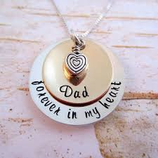 loss of daddy loss of father sympathy for loss of dad memorial necklace gift for daughter who lost their father funeral gift sy