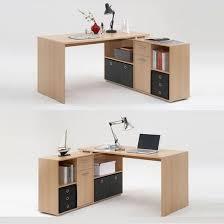 dalton corner computer desk sand oak. Dalton Corner Computer Desk In Sand Oak And Gloss White - Desks, Workstations, Home \u0026 Office, Furnitureinfashion UK | Muebles Pinterest S