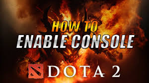 how to enable console in dota 2 reborn 2017 youtube