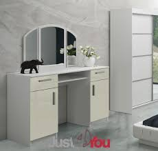 dressing room furniture. MODERN DRESSING TABLE RIWIERA 2 WITH MIRROR, DRAWERS AND CABINETS IN HIGH GLOSS Furniture Just4You - Modern Bedroom Furniture, Children\u0027s Room Dressing O