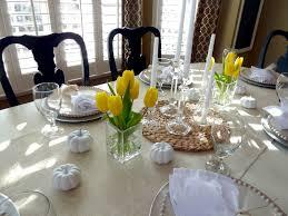 Fine Dining Table Arrangement