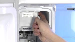 Refrigerator Ice Maker Filter Resetting The Ice Maker Samsung French Door Refrigerator Rf263